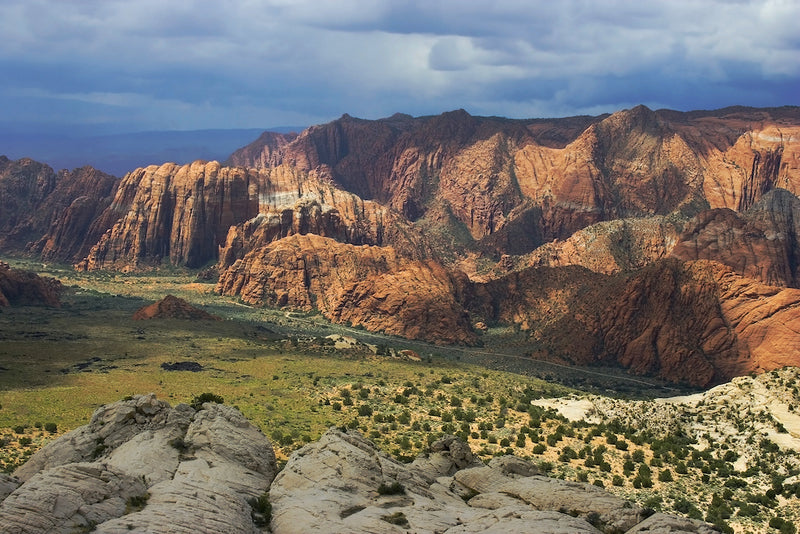 View of Snow Canyon State Park Utah
