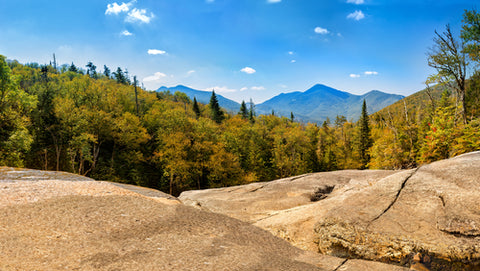 Adirondack State Park on top of a mountain