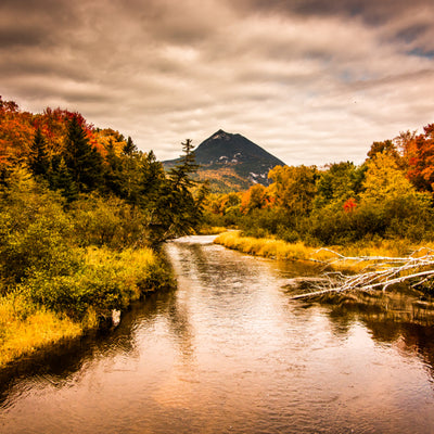 On the river at Baxter State Park