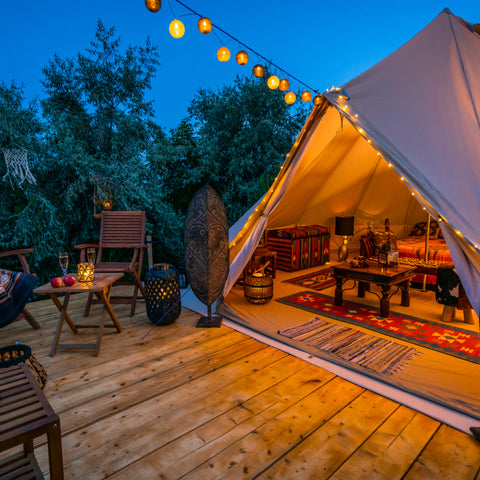 Glamping at Pomona RV Park in New Jersey