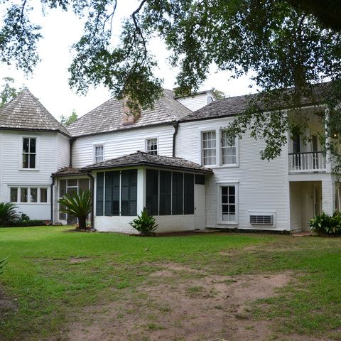 The historic white house Cane River Creole National Historical Park