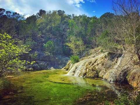 Colorado Bend State Park waterfall