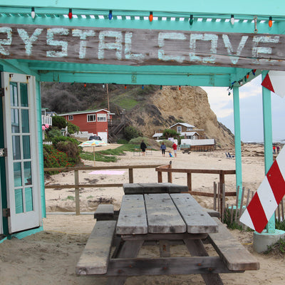 Crystal Cove State Park Beach Cottages in Newport Beach, California