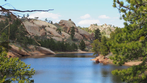 Curt Gowdy State Park Lake View