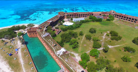 Dry Tortugas National Park Helicopter View