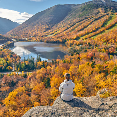 Fall weather with Franconia Notch State Park