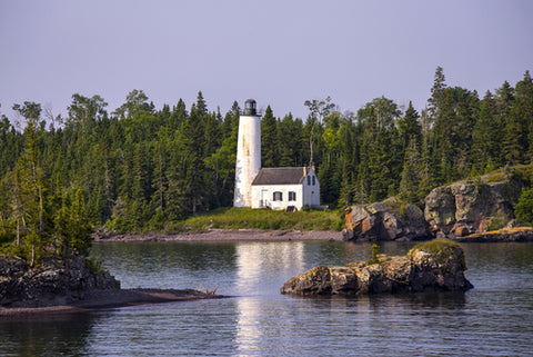 Isle Royale National Park house near the water