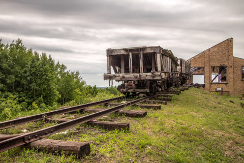 Keweenaw National Historical Park - railroad