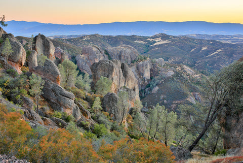 Pinnacles National Park Canyon View