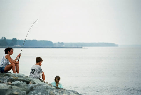 Point Lookout State Park Fishing with family