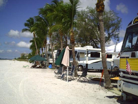 Campground site for Red Coconut RV Park
