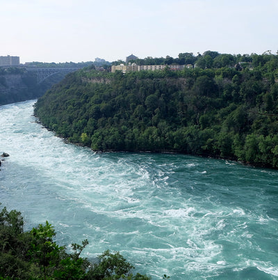 Birds eye view of the Whirlpool State Park