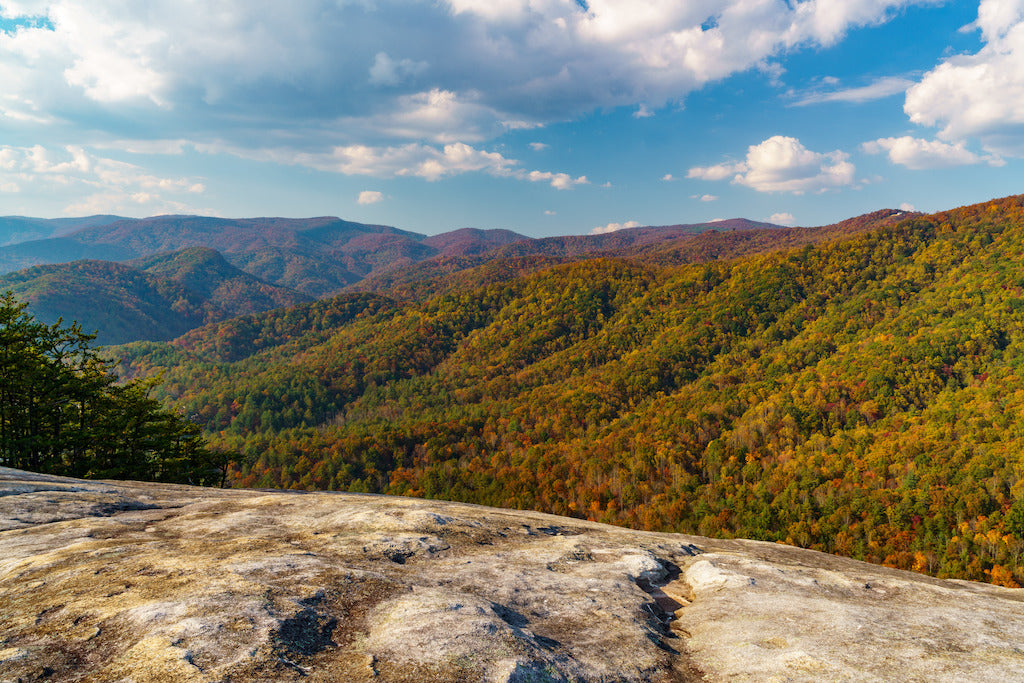Autumn at Stone Mountain State Park North Carolina