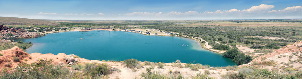 Bottomless Lakes Roswell at Bottomless Lakes State Park New Mexico