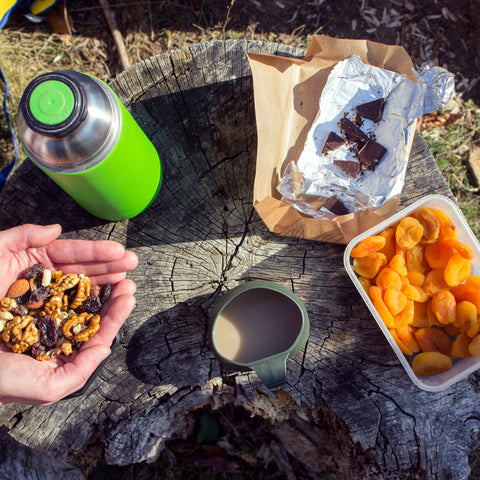 camping snacks on the go at Berlin RV Park