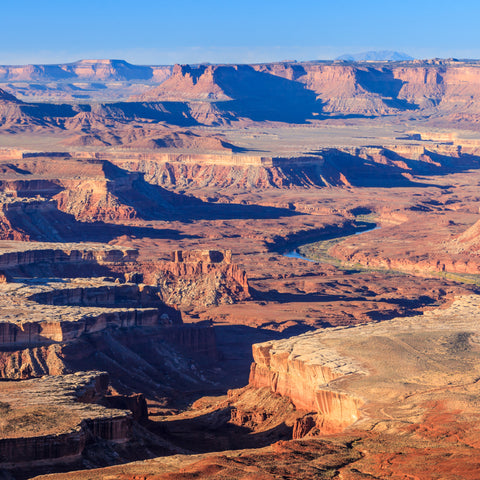 Canyon landscape in Canyonlands National Park