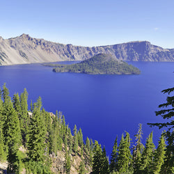 Crater Lake National Park in Oregon State