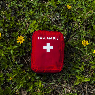 first aid kit while camping