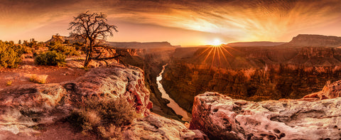 Grand Canyon National Park during sunset