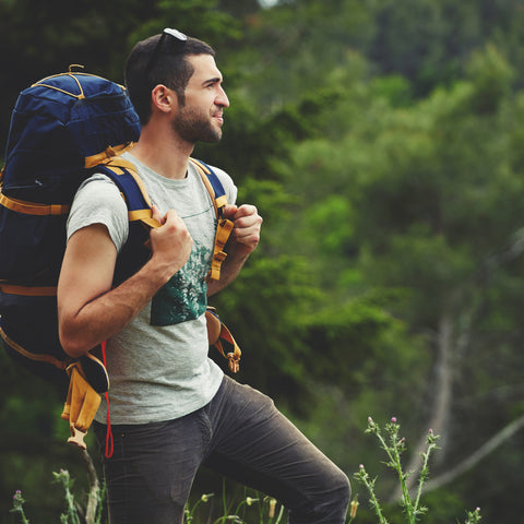 Hiking clothing should be light when at Prairie Breeze RV Park