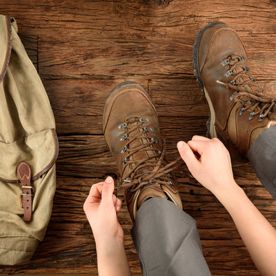 hiking boots for Eugene T Mahoney state park