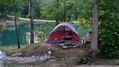 Camping at Little River RV  Park