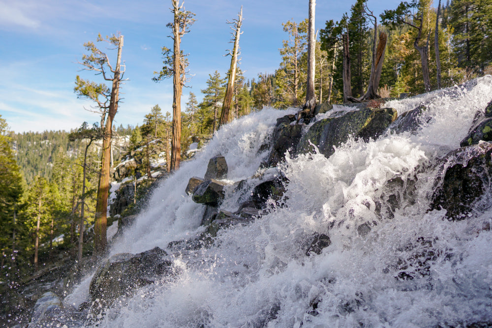 Majestic Beauty of Lower Eagle Falls Emerald Bay State Park