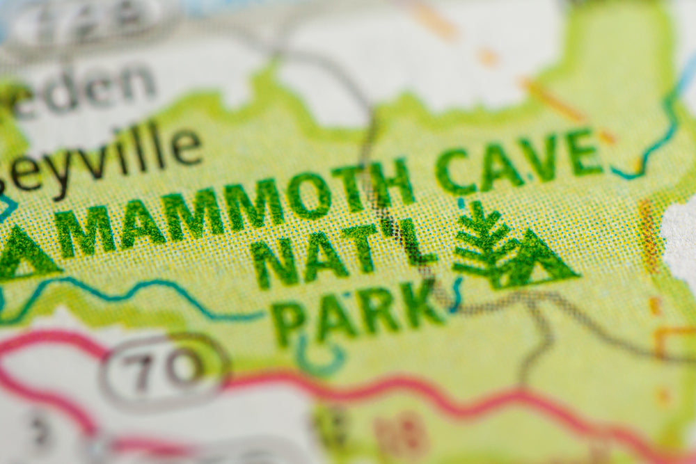Mammoth Cave National Park Kentucky USA