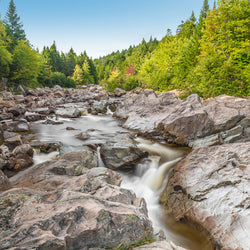 Moose Horn Trail Broad River in Fundy National Park New Brunswick Canada