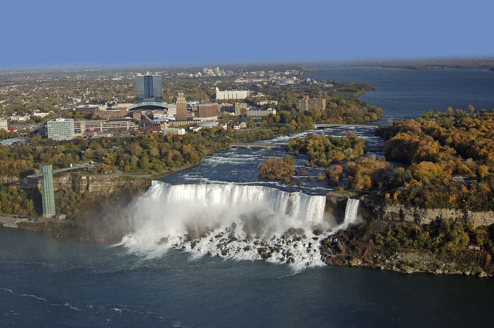 Niagra River and American Falls Whirlpool State Park New York