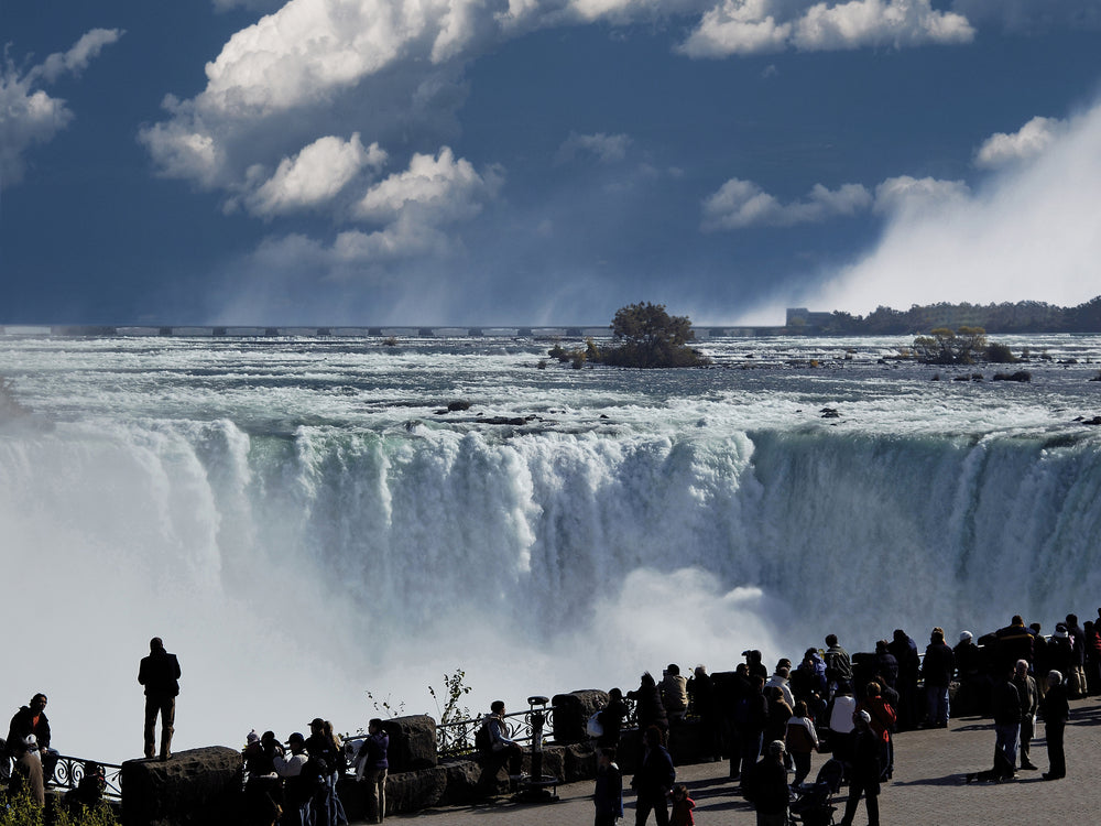 Niagra Whirlpool View From Ontario Canada