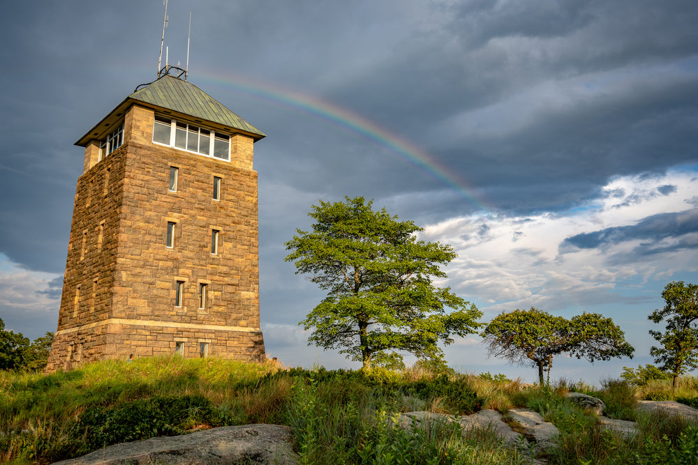 Perkins Memorial Tower in Palisades Interstate Park New Jersey