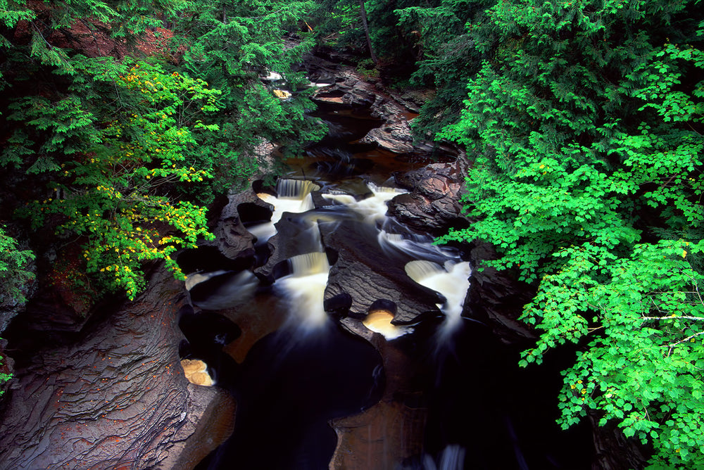 Presque Isle River at Porcupine Mountains State Park