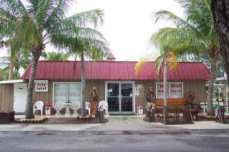 Shopping at Red Coconut RV Park