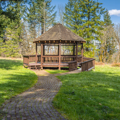 Gazebo in the rv state park