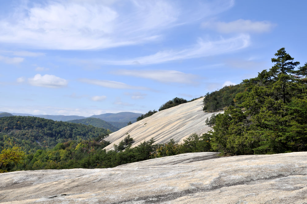 Stone Mountain on a Sunny Day Stone Mountain State Park North Carolina