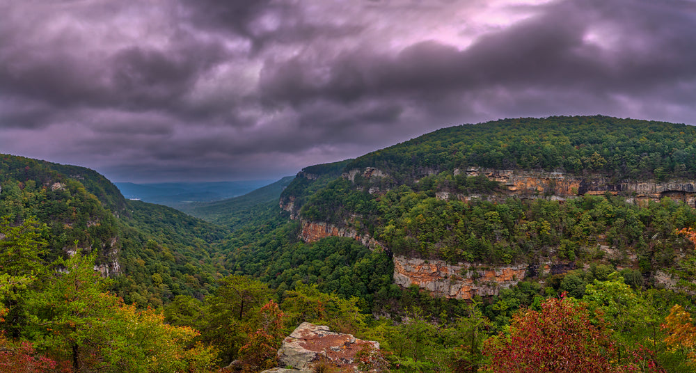 Sunrise View at Cloudland Canyon State Park Georgia