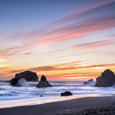 Sunset at Sonoma Coast State Park California