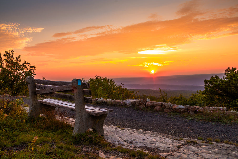 Sunset View High Point State Park New Jersey