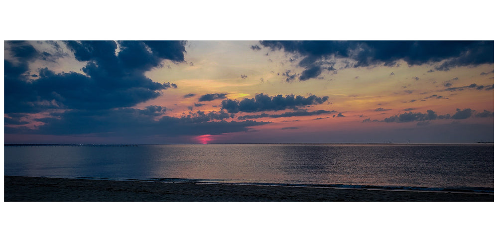 Sunset of First Landing State Park Virginia Beach Virginia