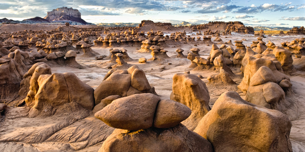 View of Goblin Valley State Park Utah