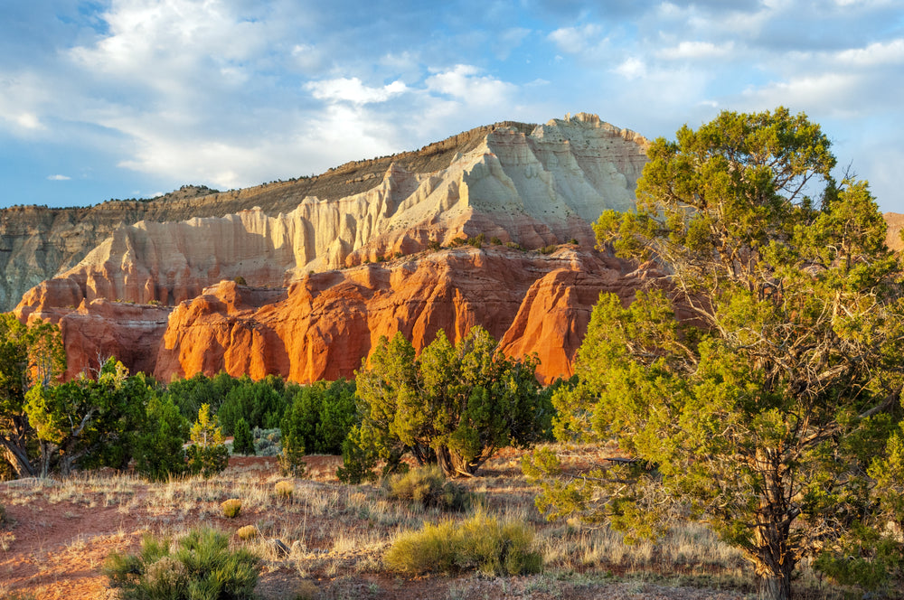 View of Sandstone Formations at Kodachrome Basin State Park Utah
