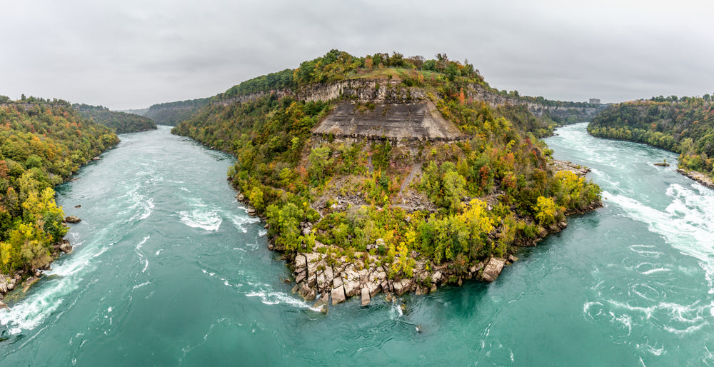 View of Whirlpool State Park From Ontario Canada