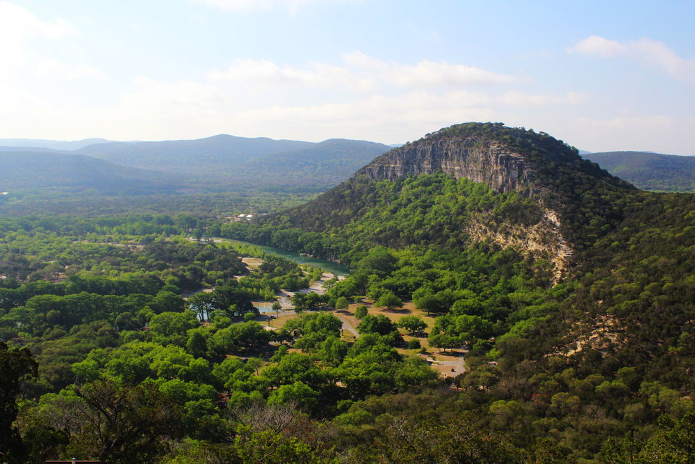 Views of Hiking Trails at Garner State Park Texas