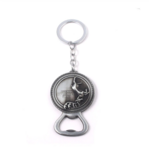 House Baratheon Bottle Opener Key Chain