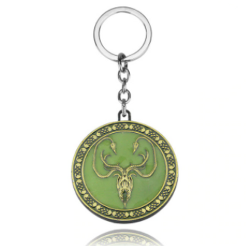 House Greyjoy Glow in the dark Key Chain