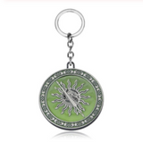 House Martel Glow in the Dark Key Chain