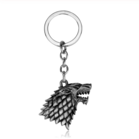 House Stark Dire Wolf Key Chain