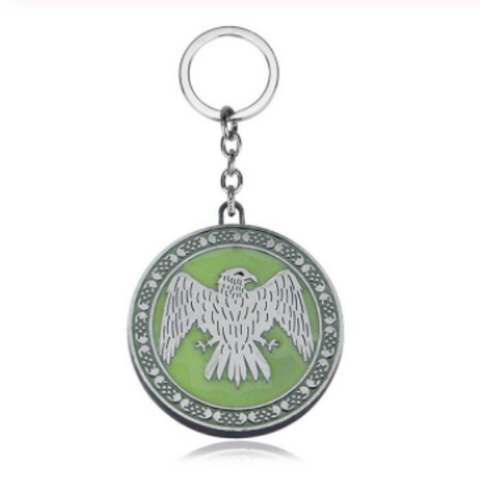 House Arryn Glow in the dark Key Chain