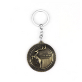 "House Baratheon ""Ours is the Fury"" Key Chain"